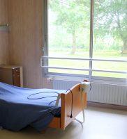 Chambre individuelle de l'EHPAD Val d'Auge