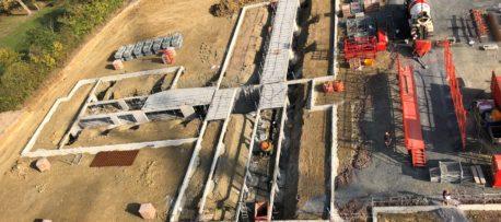 Le chantier du nouvel EHPAD en vidéo