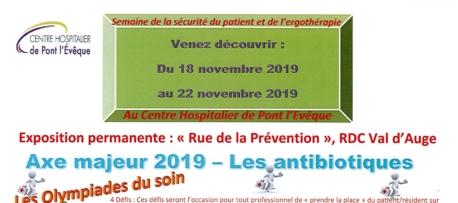 Semaine de la sécurité du patient 2019